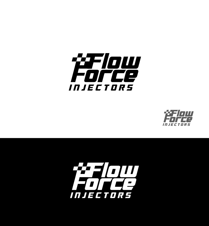 Logo Design by Tauhid Shaikh - Entry No. 108 in the Logo Design Contest Fun Logo Design for Flow Force Injectors.