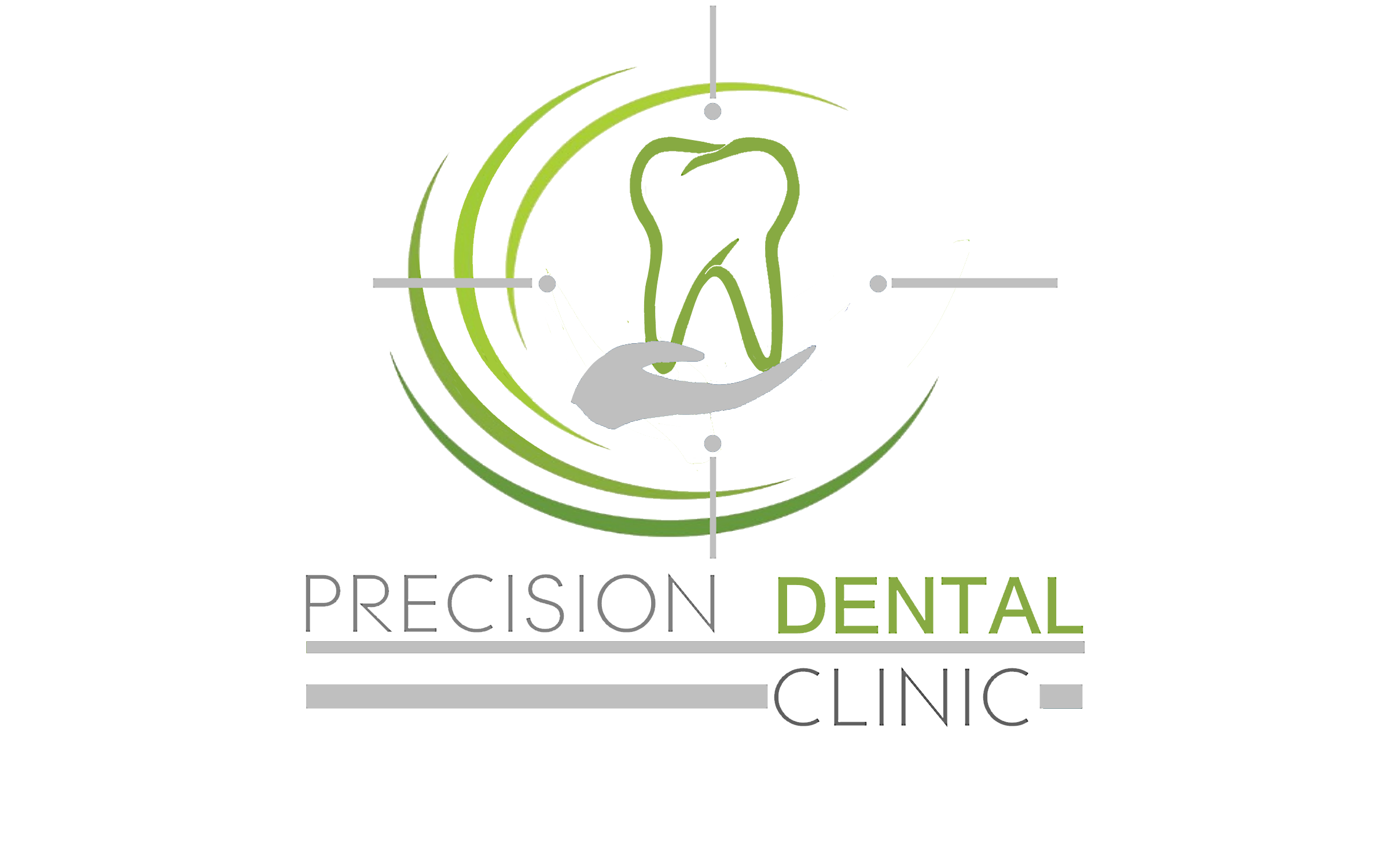 Logo Design by Roberto Bassi - Entry No. 49 in the Logo Design Contest Captivating Logo Design for Precision Dental Clinic.