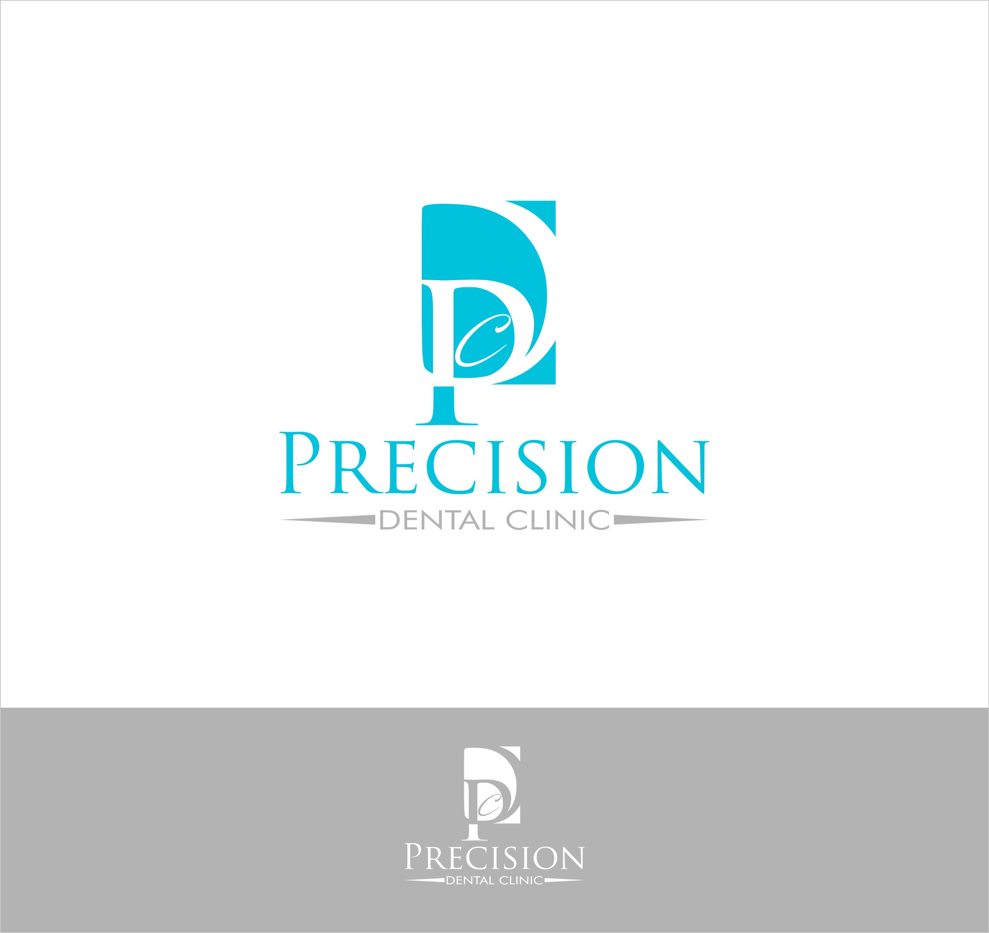 Logo Design by snow - Entry No. 50 in the Logo Design Contest Captivating Logo Design for Precision Dental Clinic.
