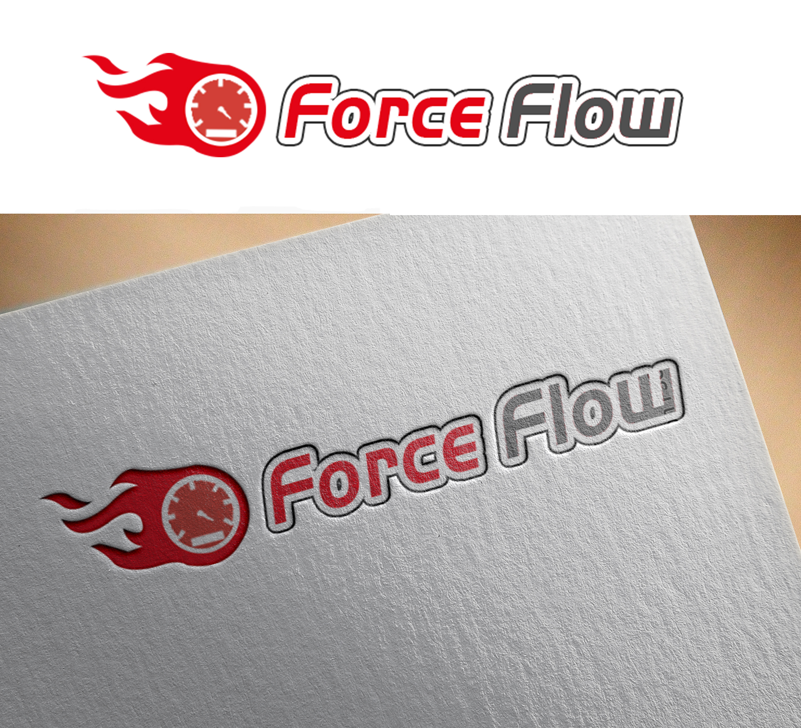 Logo Design by Sohaib Ali Khan - Entry No. 111 in the Logo Design Contest Fun Logo Design for Flow Force Injectors.
