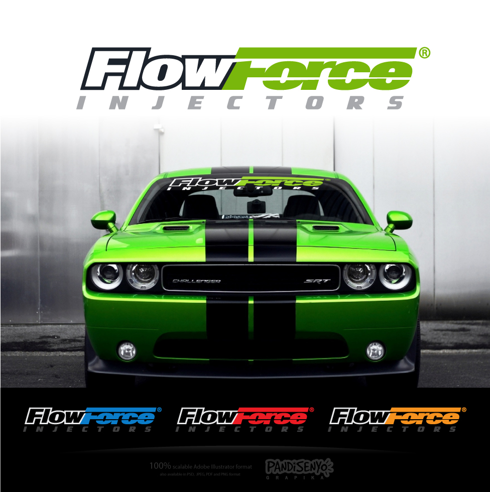 Logo Design by pandisenyo - Entry No. 114 in the Logo Design Contest Fun Logo Design for Flow Force Injectors.