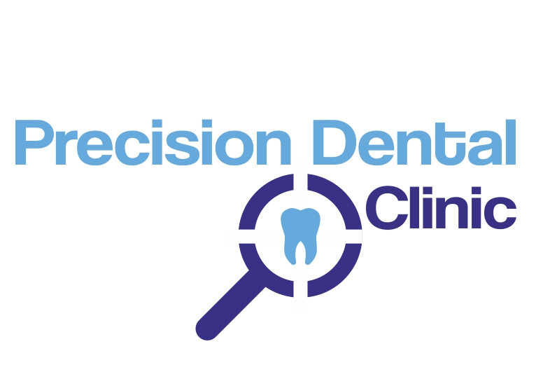 Logo Design by Private User - Entry No. 53 in the Logo Design Contest Captivating Logo Design for Precision Dental Clinic.