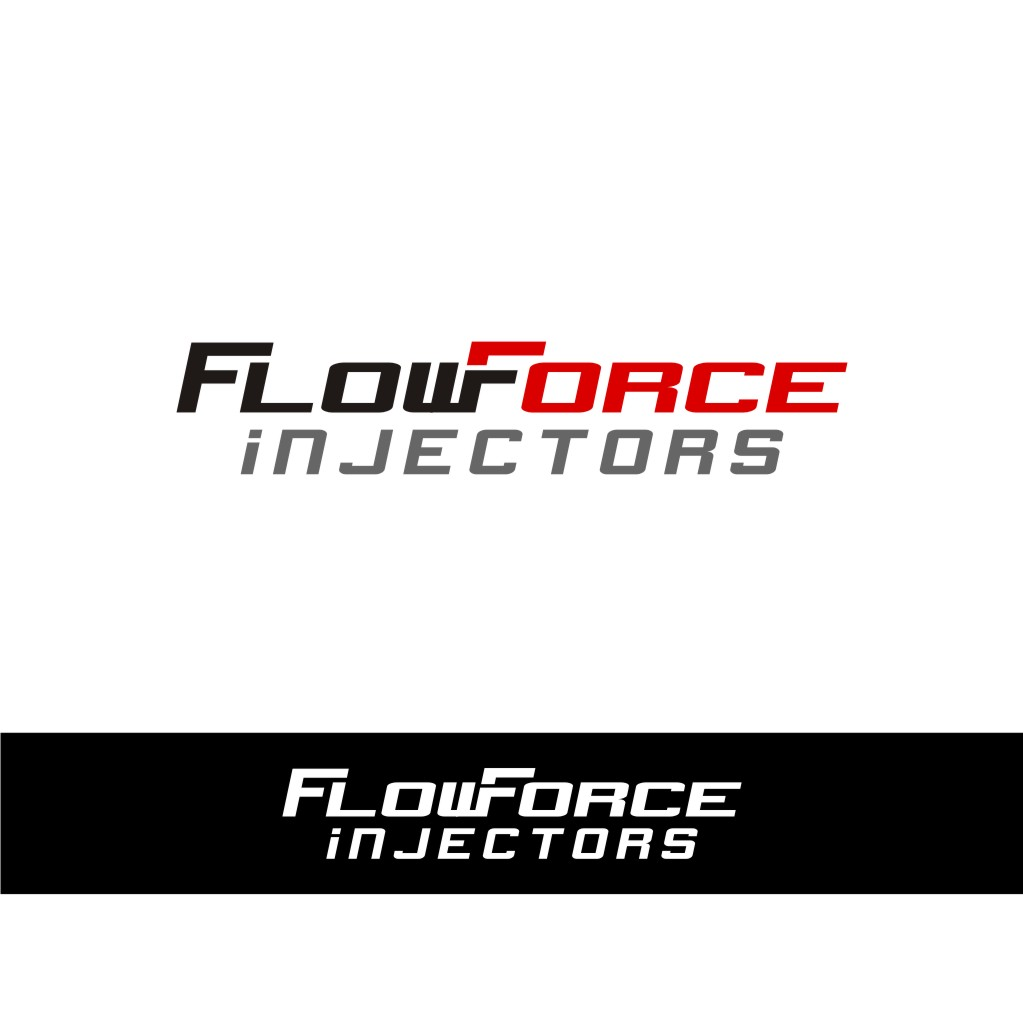 Logo Design by untung - Entry No. 120 in the Logo Design Contest Fun Logo Design for Flow Force Injectors.
