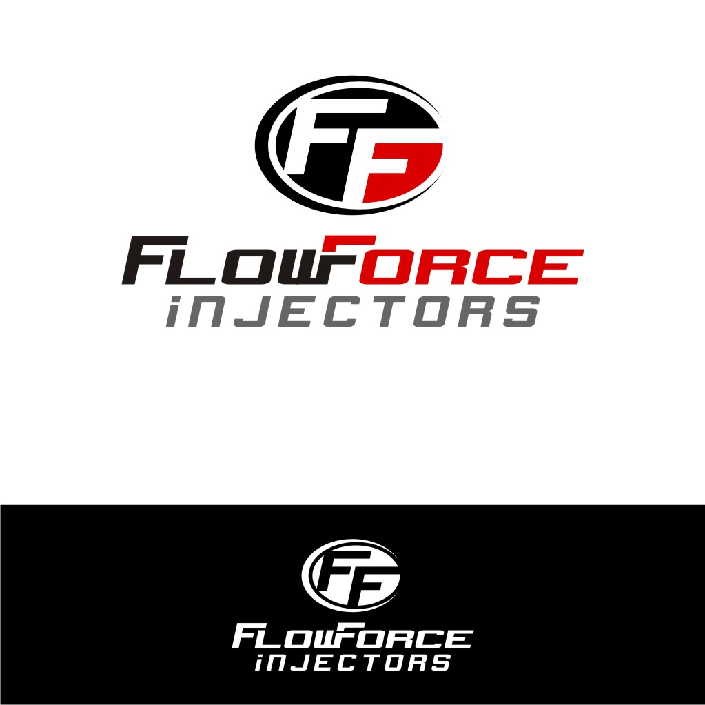 Logo Design by untung - Entry No. 121 in the Logo Design Contest Fun Logo Design for Flow Force Injectors.