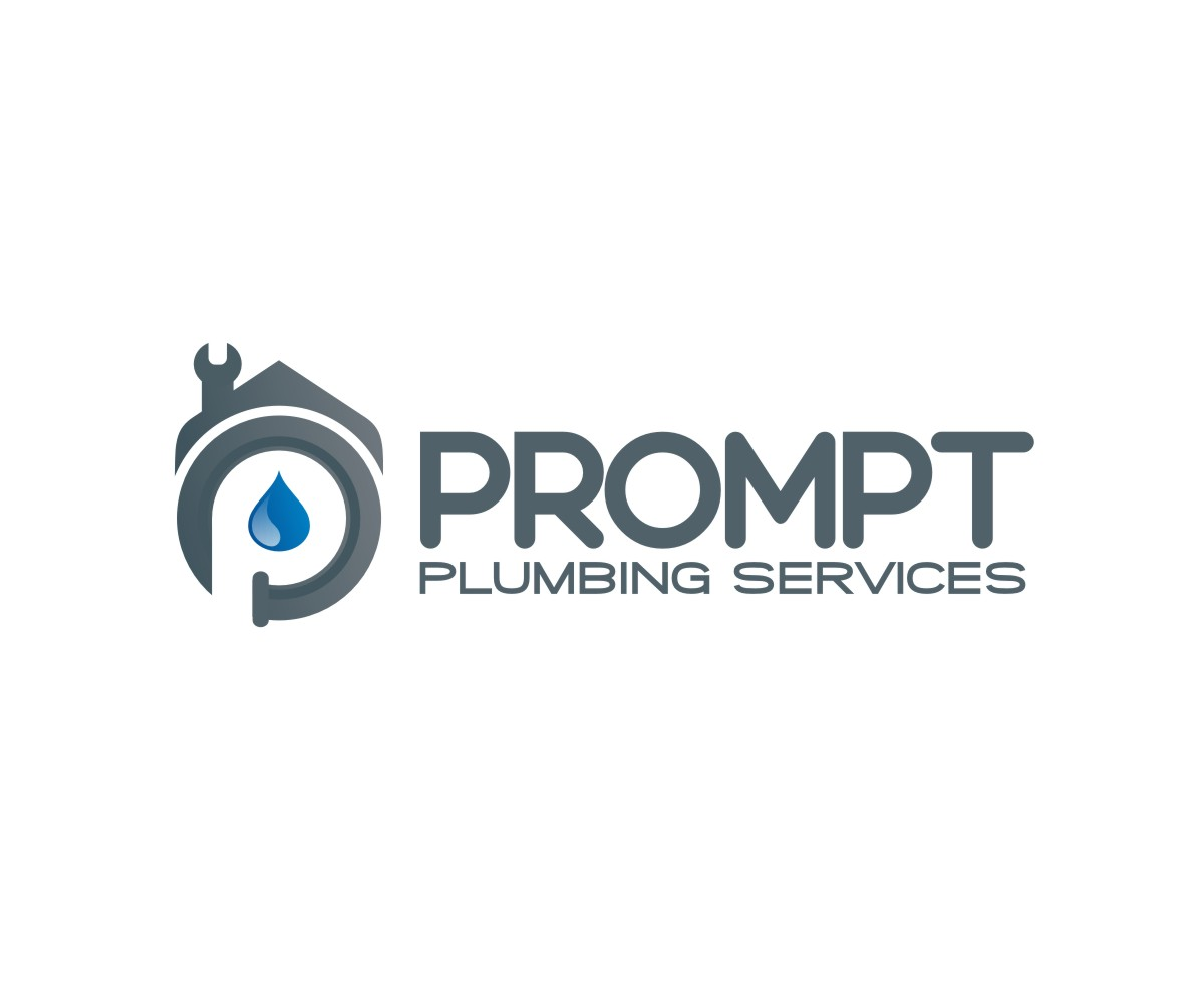 Logo Design by untung - Entry No. 85 in the Logo Design Contest Artistic Logo Design for Prompt Plumbing Services.