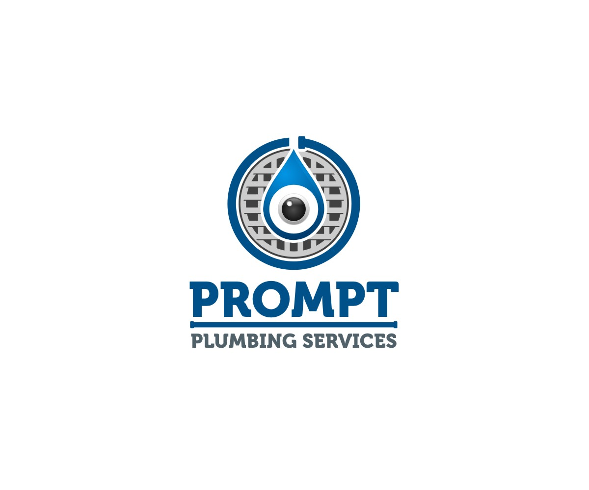 Logo Design by untung - Entry No. 86 in the Logo Design Contest Artistic Logo Design for Prompt Plumbing Services.