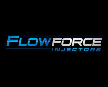 Logo Design by Rasya Malik - Entry No. 122 in the Logo Design Contest Fun Logo Design for Flow Force Injectors.