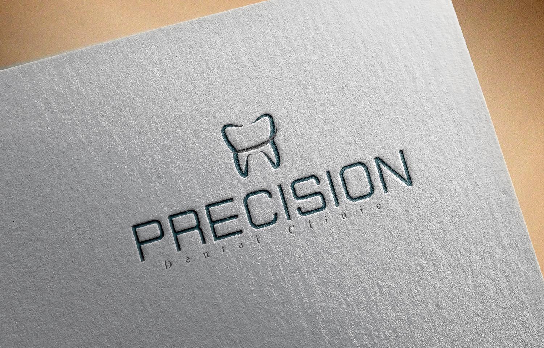 Logo Design by Private User - Entry No. 56 in the Logo Design Contest Captivating Logo Design for Precision Dental Clinic.