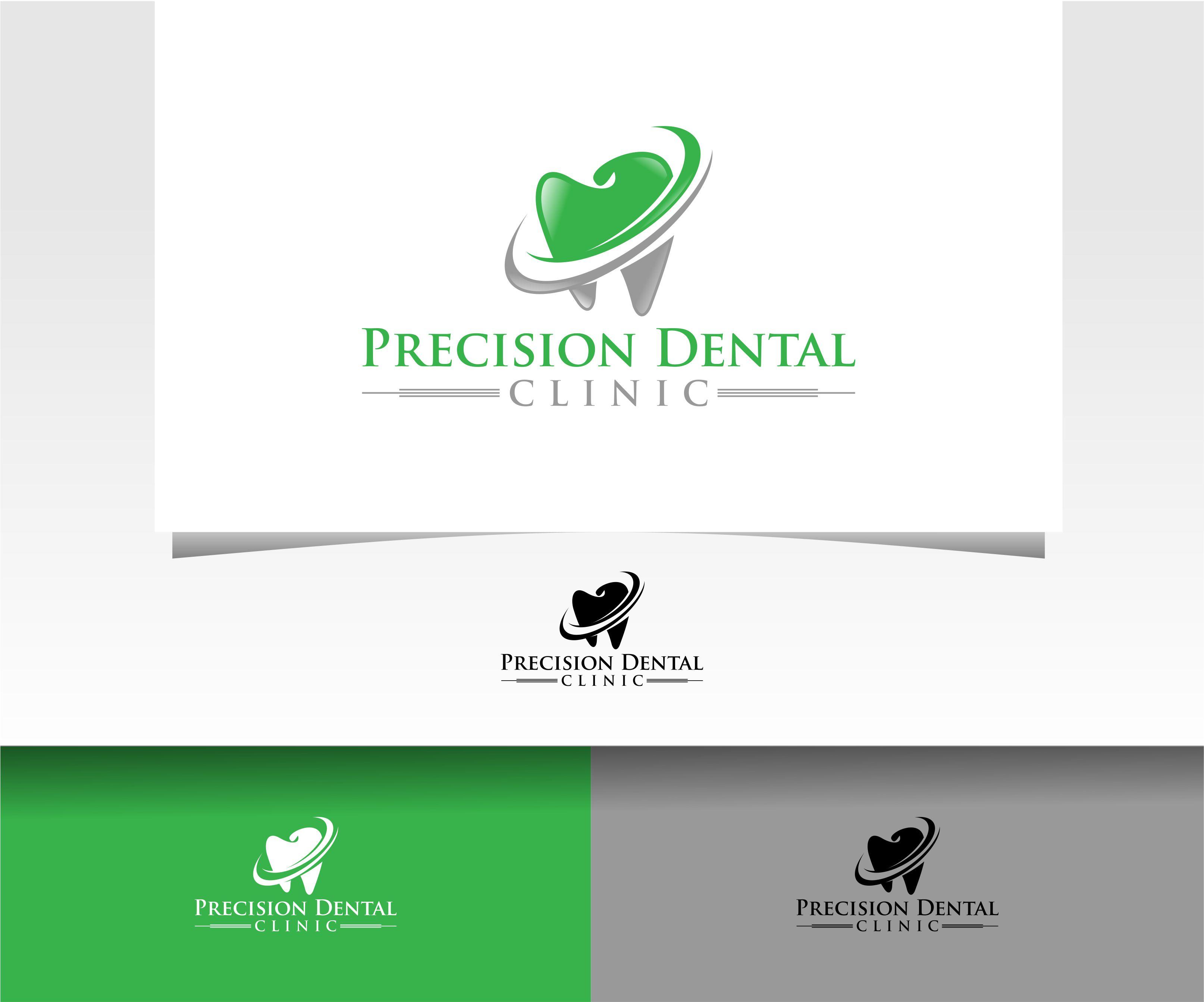 Logo Design by Raymond Garcia - Entry No. 57 in the Logo Design Contest Captivating Logo Design for Precision Dental Clinic.