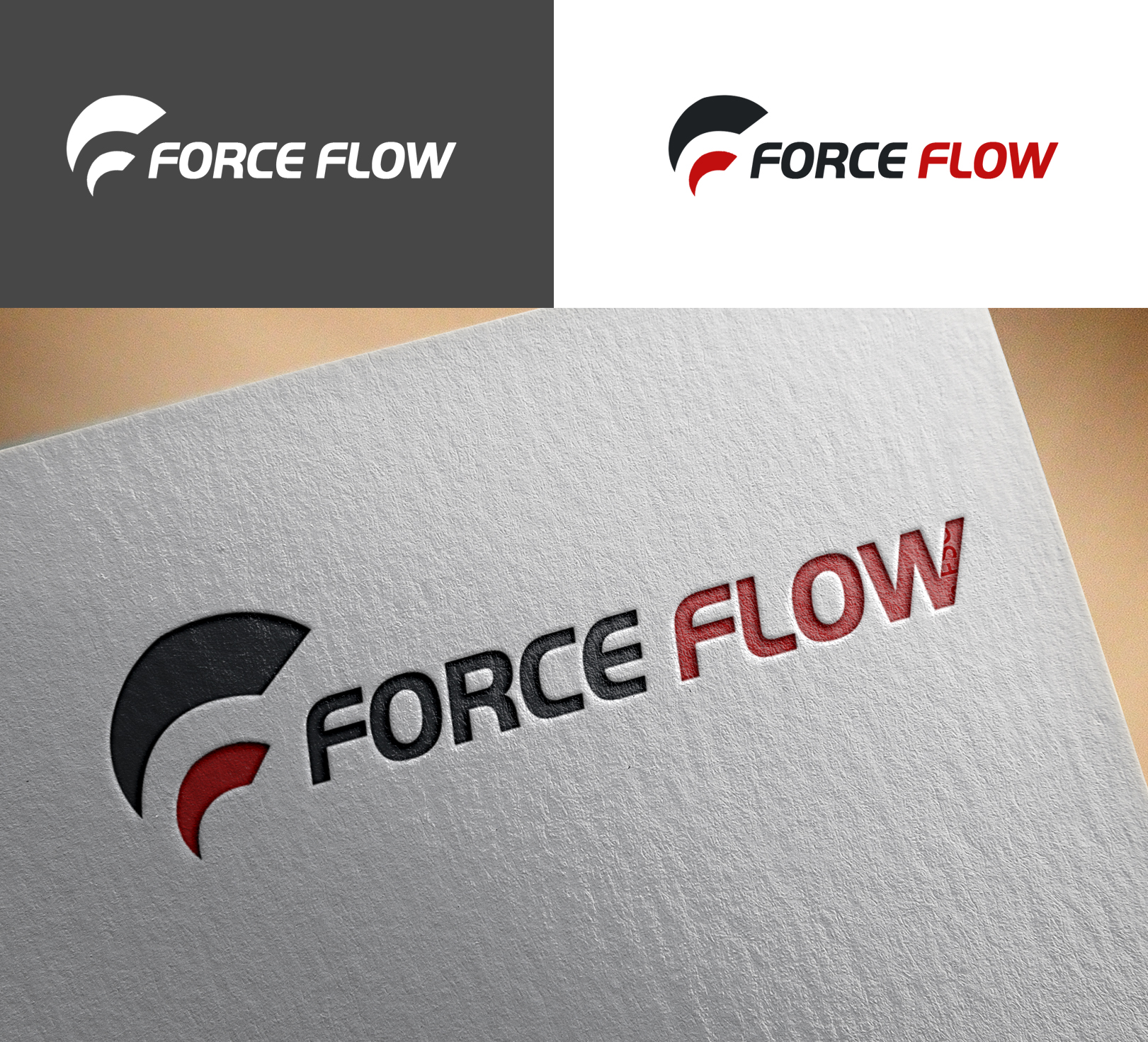 Logo Design by Sohaib Ali Khan - Entry No. 125 in the Logo Design Contest Fun Logo Design for Flow Force Injectors.