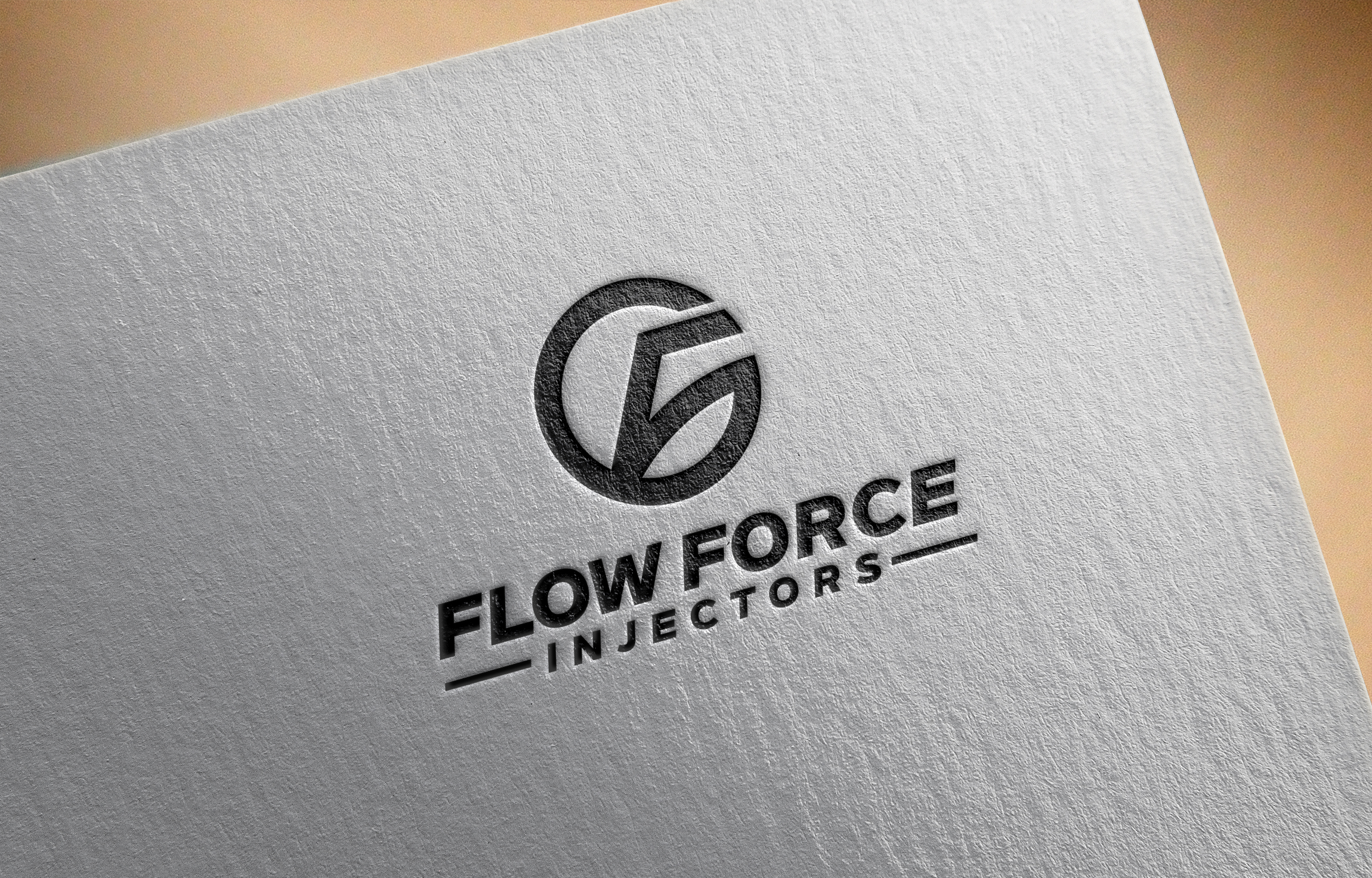 Logo Design by Tauhid Shaikh - Entry No. 126 in the Logo Design Contest Fun Logo Design for Flow Force Injectors.