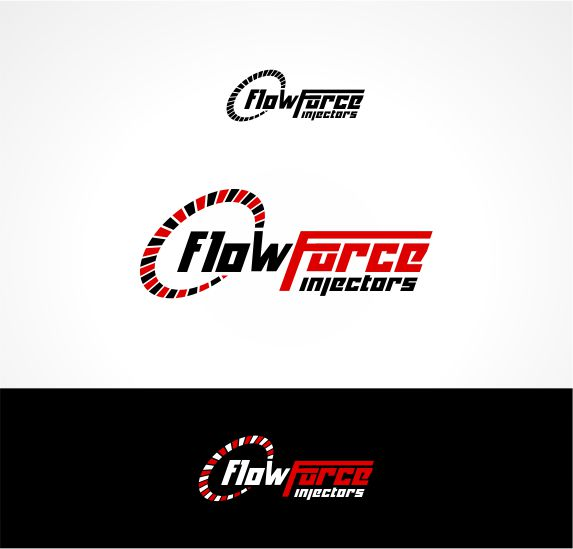 Logo Design by Raymond Garcia - Entry No. 127 in the Logo Design Contest Fun Logo Design for Flow Force Injectors.