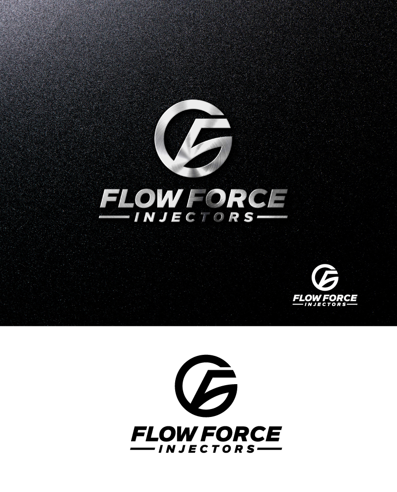 Logo Design by Tauhid Shaikh - Entry No. 128 in the Logo Design Contest Fun Logo Design for Flow Force Injectors.