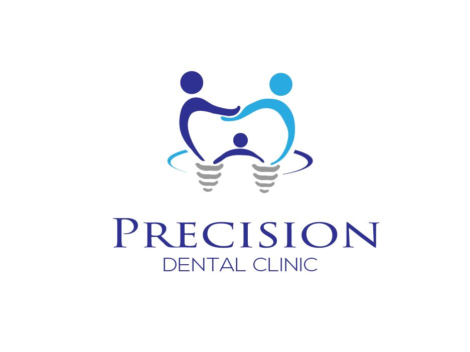 Logo Design by Wilfred Ponseca - Entry No. 58 in the Logo Design Contest Captivating Logo Design for Precision Dental Clinic.