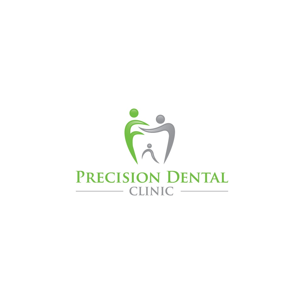Logo Design by Tauhid Shaikh - Entry No. 63 in the Logo Design Contest Captivating Logo Design for Precision Dental Clinic.
