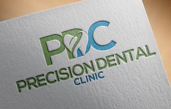 Logo Design by designboss - Entry No. 64 in the Logo Design Contest Captivating Logo Design for Precision Dental Clinic.