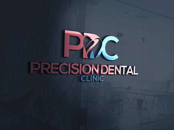 Logo Design by designboss - Entry No. 65 in the Logo Design Contest Captivating Logo Design for Precision Dental Clinic.