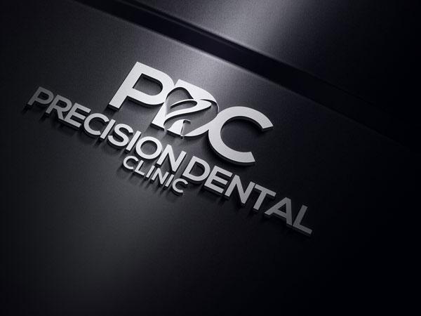Logo Design by designboss - Entry No. 66 in the Logo Design Contest Captivating Logo Design for Precision Dental Clinic.