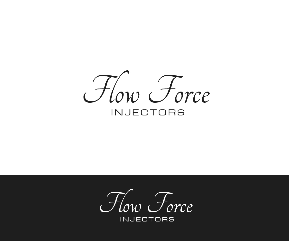 Logo Design by PixArt - Entry No. 140 in the Logo Design Contest Fun Logo Design for Flow Force Injectors.