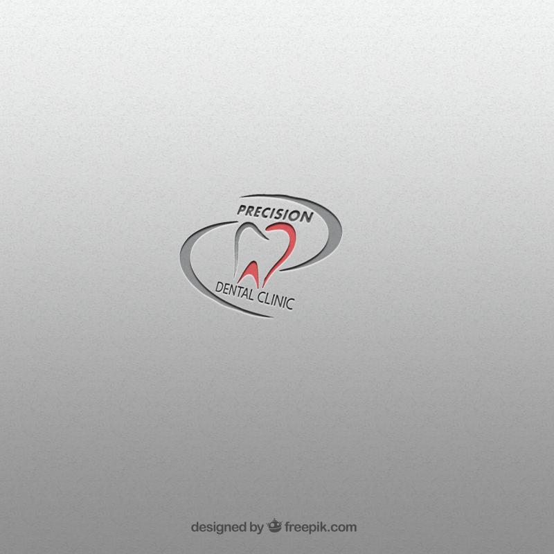Logo Design by Palwasha Khan - Entry No. 71 in the Logo Design Contest Captivating Logo Design for Precision Dental Clinic.
