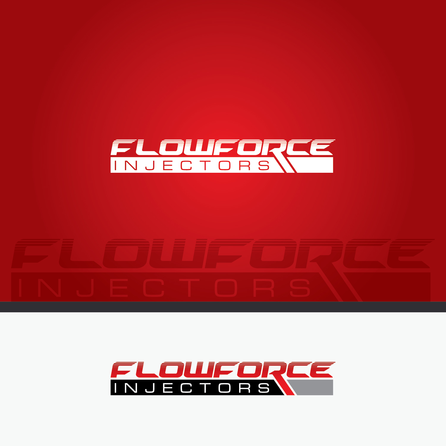 Logo Design by Shahab Uddin - Entry No. 141 in the Logo Design Contest Fun Logo Design for Flow Force Injectors.