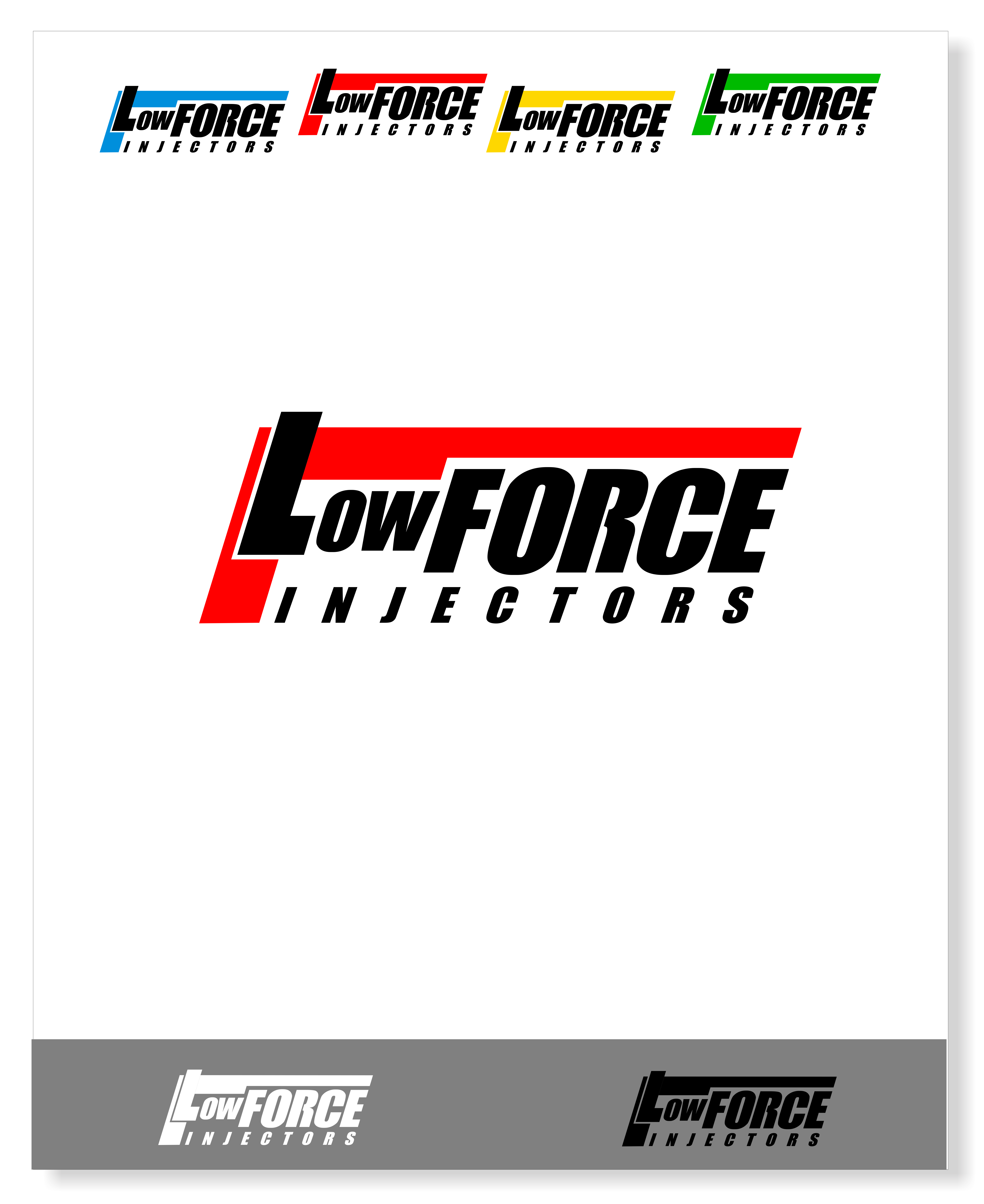 Logo Design by snow - Entry No. 146 in the Logo Design Contest Fun Logo Design for Flow Force Injectors.
