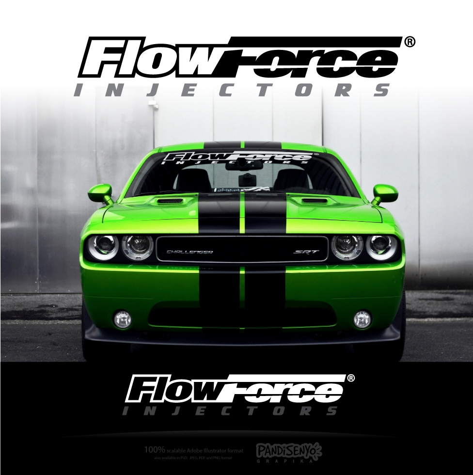 Logo Design by pandisenyo - Entry No. 149 in the Logo Design Contest Fun Logo Design for Flow Force Injectors.