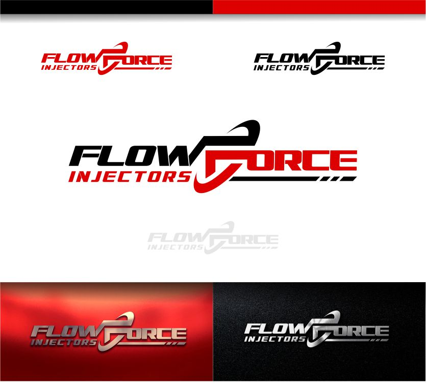 Logo Design by Raymond Garcia - Entry No. 150 in the Logo Design Contest Fun Logo Design for Flow Force Injectors.