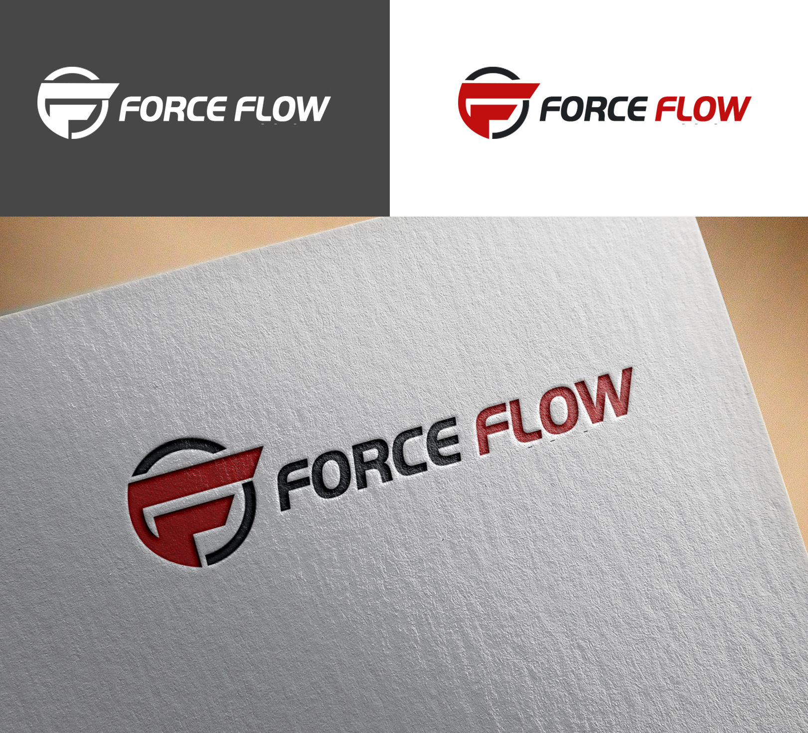 Logo Design by Sohaib Ali Khan - Entry No. 158 in the Logo Design Contest Fun Logo Design for Flow Force Injectors.