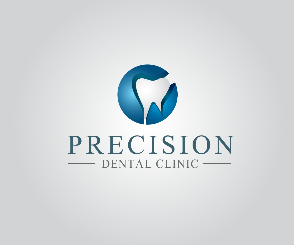 Logo Design by PixArt - Entry No. 83 in the Logo Design Contest Captivating Logo Design for Precision Dental Clinic.