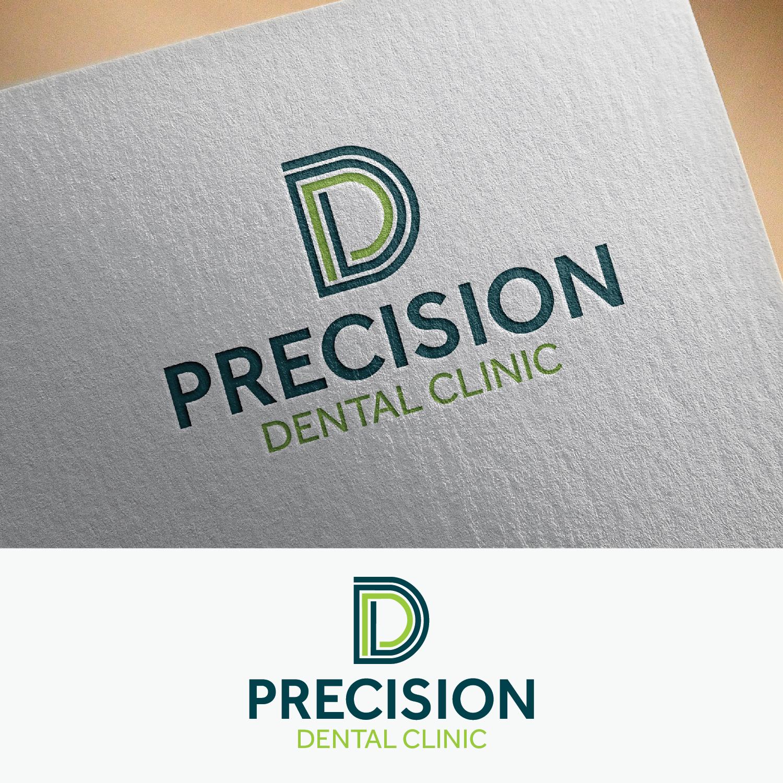Logo Design by Shahab Uddin - Entry No. 85 in the Logo Design Contest Captivating Logo Design for Precision Dental Clinic.