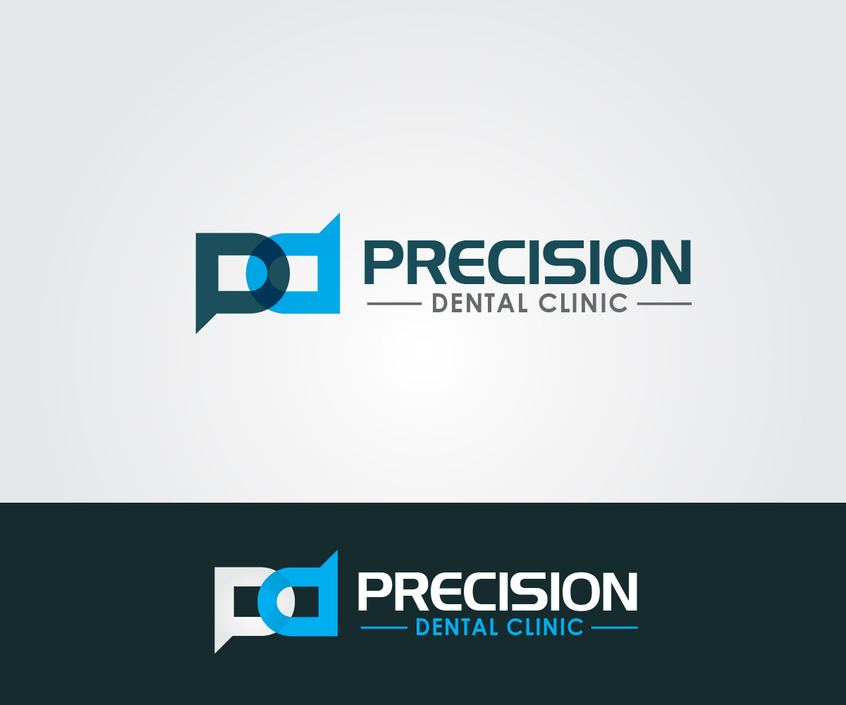 Logo Design by PixArt - Entry No. 87 in the Logo Design Contest Captivating Logo Design for Precision Dental Clinic.