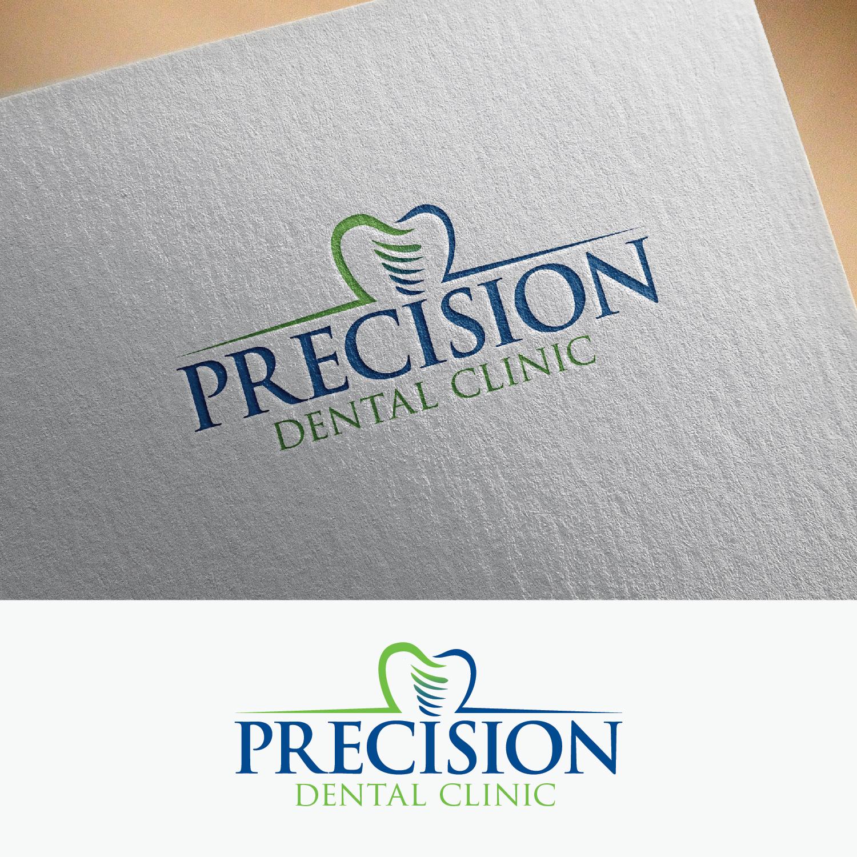 Logo Design by Shahab Uddin - Entry No. 89 in the Logo Design Contest Captivating Logo Design for Precision Dental Clinic.