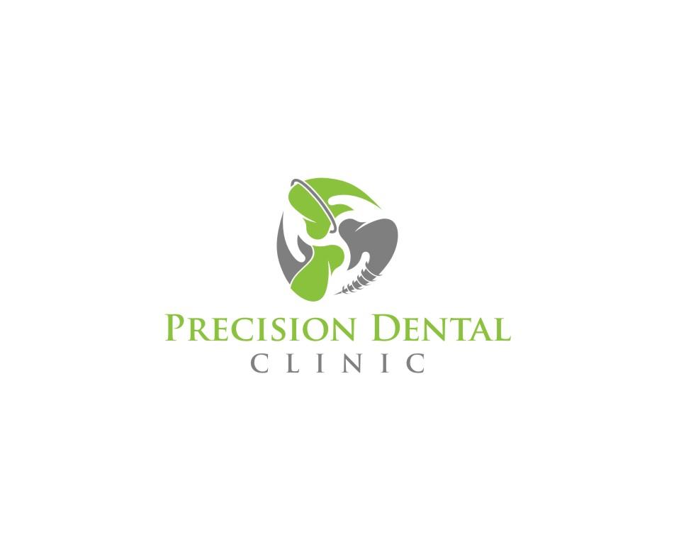 Logo Design by untung - Entry No. 90 in the Logo Design Contest Captivating Logo Design for Precision Dental Clinic.