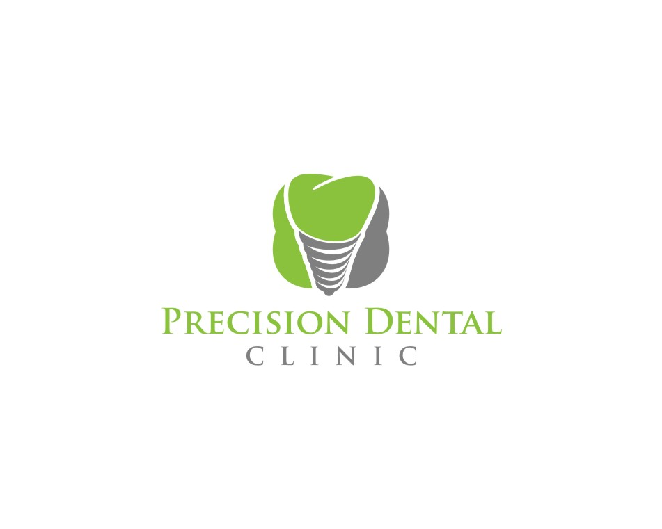Logo Design by untung - Entry No. 91 in the Logo Design Contest Captivating Logo Design for Precision Dental Clinic.