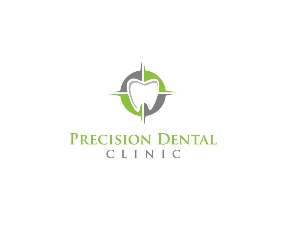 Logo Design by untung - Entry No. 92 in the Logo Design Contest Captivating Logo Design for Precision Dental Clinic.