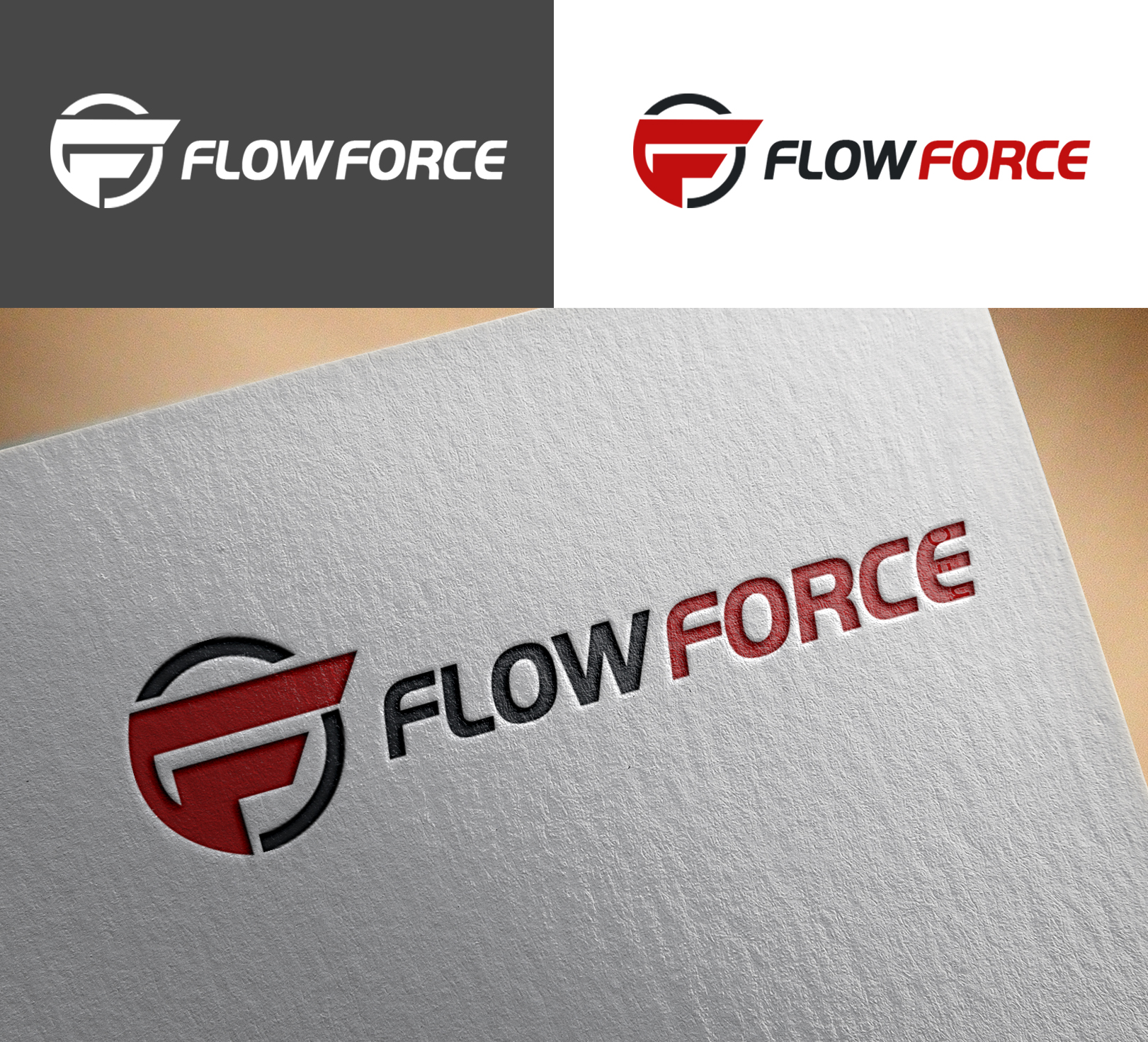 Logo Design by Sohaib Ali Khan - Entry No. 167 in the Logo Design Contest Fun Logo Design for Flow Force Injectors.
