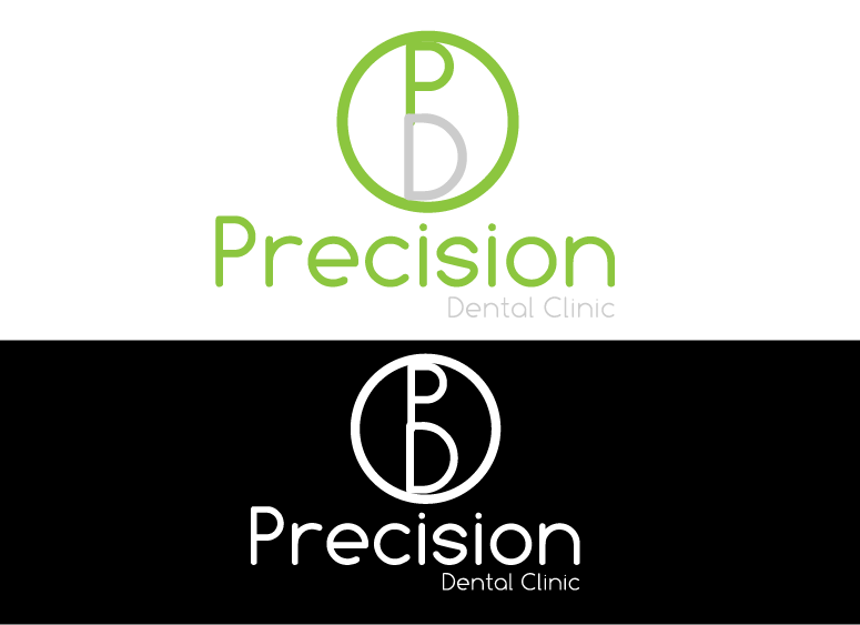Logo Design by Design Expect - Entry No. 94 in the Logo Design Contest Captivating Logo Design for Precision Dental Clinic.