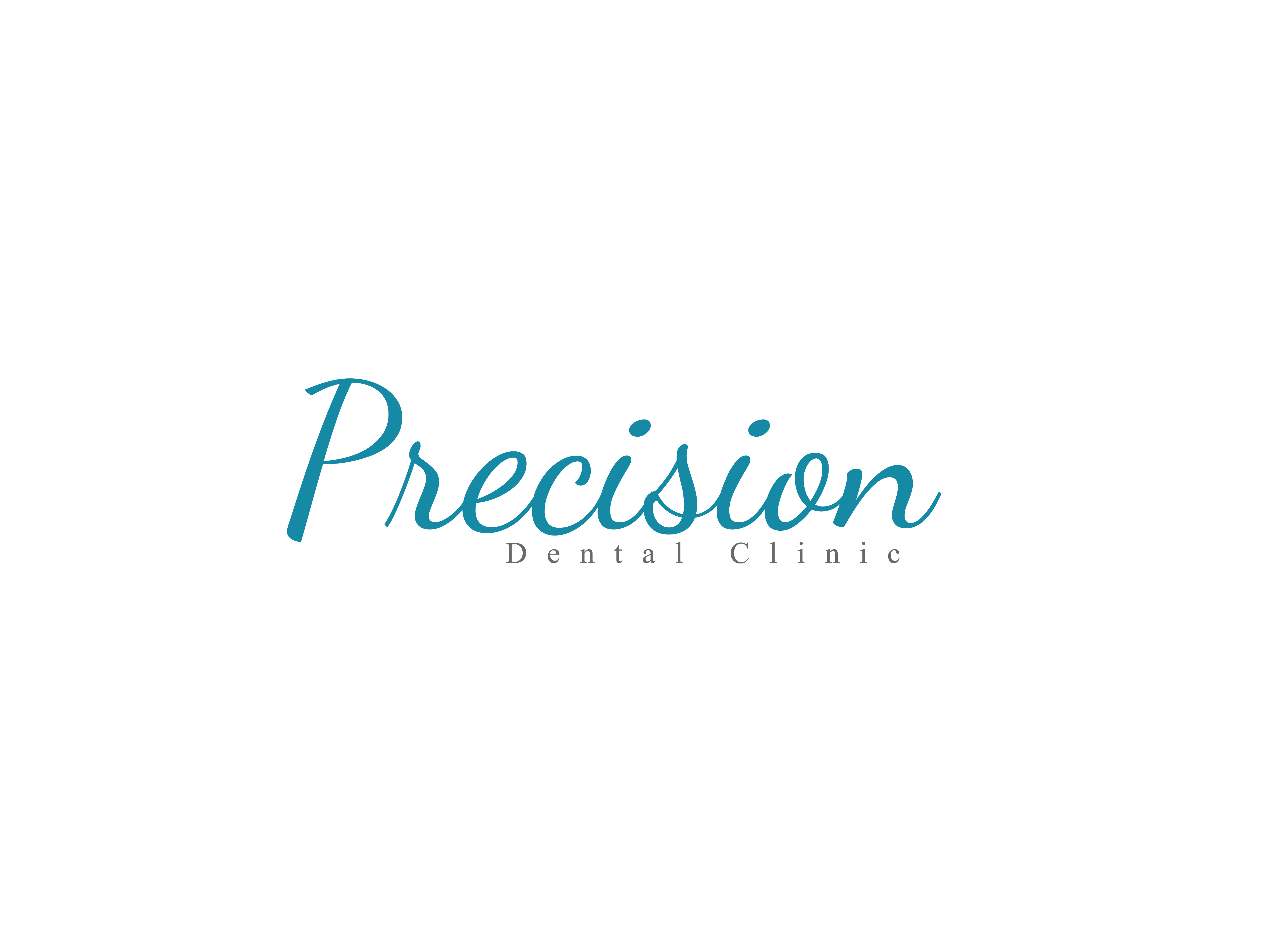 Logo Design by Private User - Entry No. 95 in the Logo Design Contest Captivating Logo Design for Precision Dental Clinic.