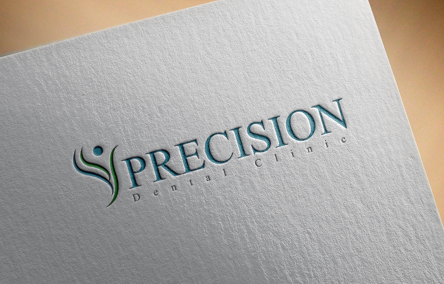 Logo Design by Private User - Entry No. 97 in the Logo Design Contest Captivating Logo Design for Precision Dental Clinic.