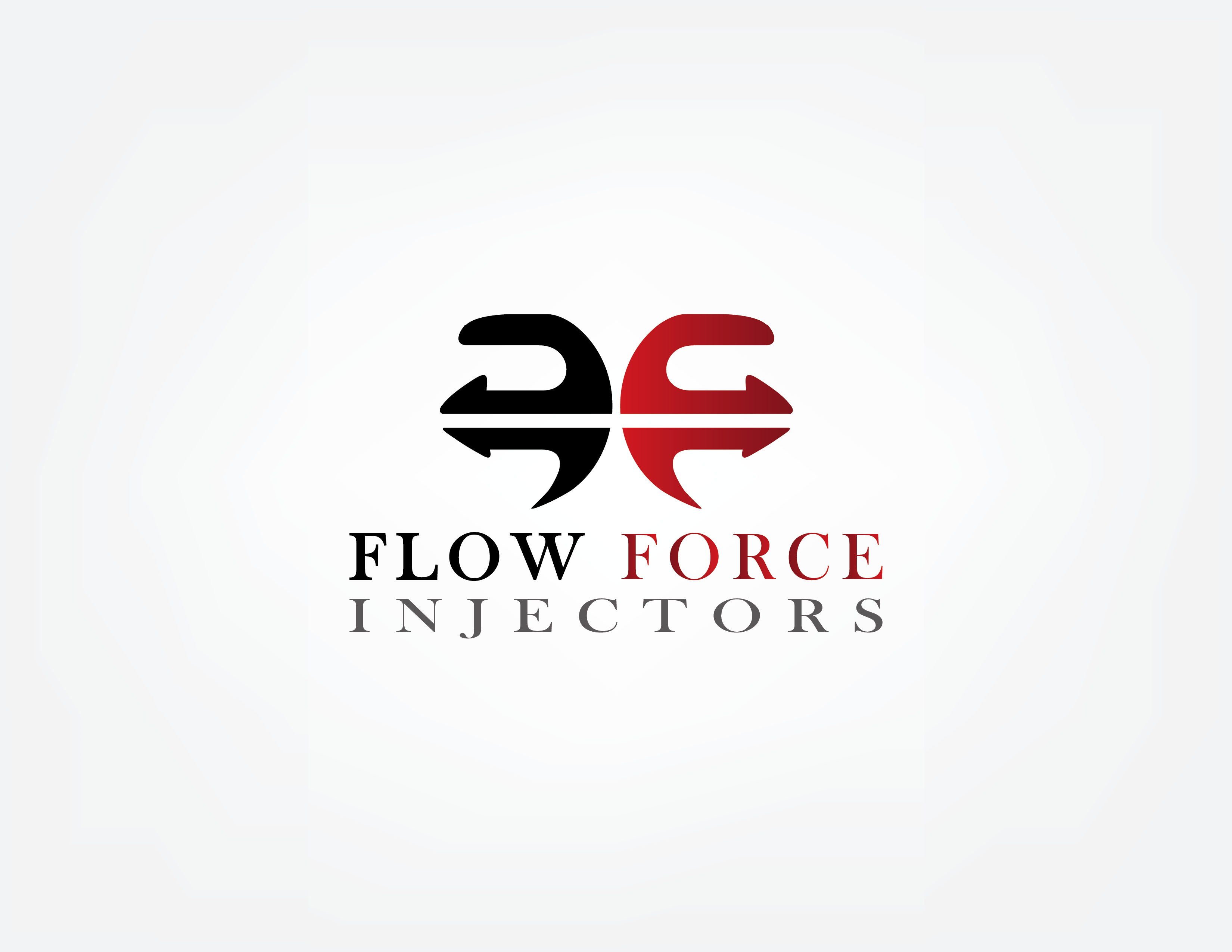 Logo Design by Irfan Ali - Entry No. 173 in the Logo Design Contest Fun Logo Design for Flow Force Injectors.
