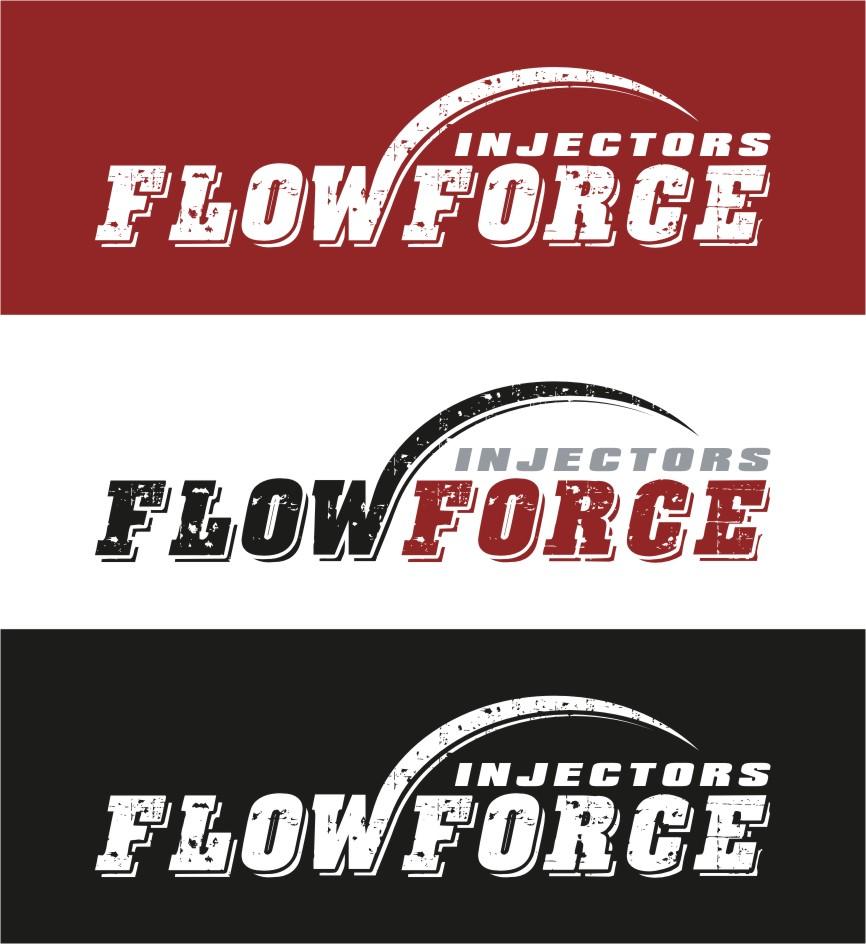Logo Design by RasYa Muhammad Athaya - Entry No. 176 in the Logo Design Contest Fun Logo Design for Flow Force Injectors.