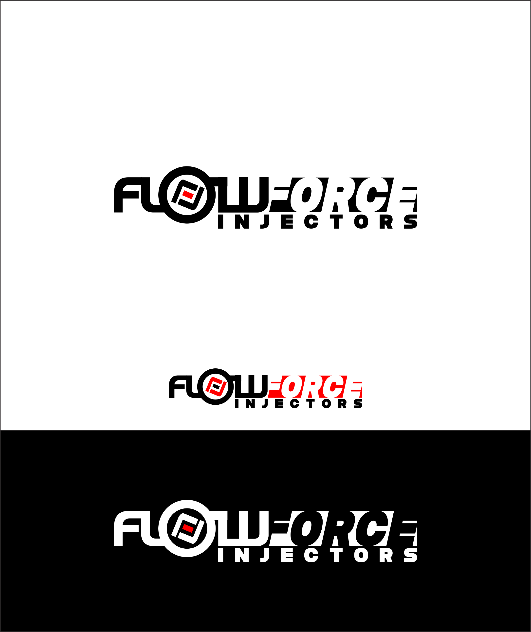 Logo Design by snow - Entry No. 177 in the Logo Design Contest Fun Logo Design for Flow Force Injectors.