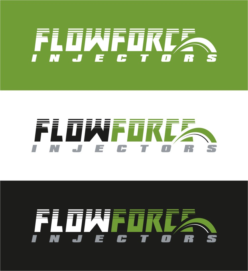 Logo Design by RasYa Muhammad Athaya - Entry No. 178 in the Logo Design Contest Fun Logo Design for Flow Force Injectors.