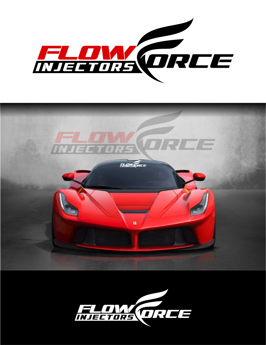 Logo Design by Raymond Garcia - Entry No. 179 in the Logo Design Contest Fun Logo Design for Flow Force Injectors.