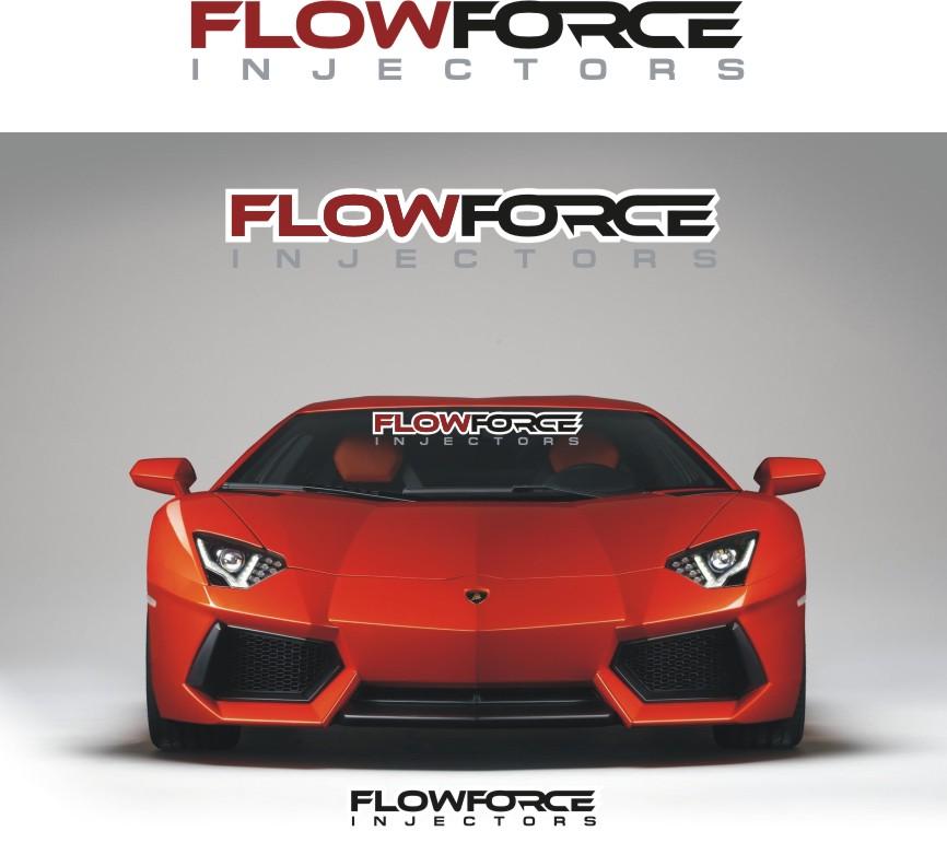 Logo Design by RasYa Muhammad Athaya - Entry No. 181 in the Logo Design Contest Fun Logo Design for Flow Force Injectors.