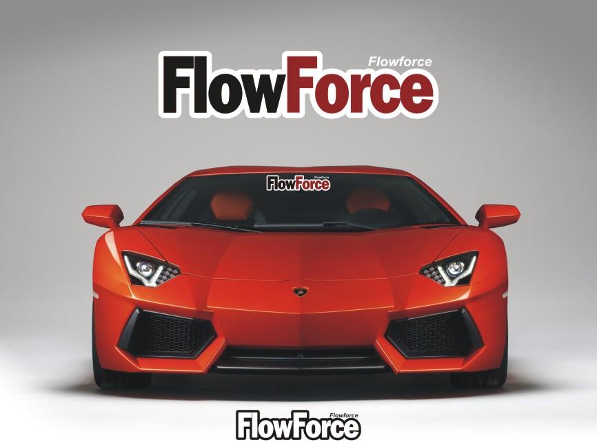 Logo Design by RasYa Muhammad Athaya - Entry No. 182 in the Logo Design Contest Fun Logo Design for Flow Force Injectors.