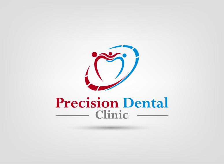 Logo Design by Irfan Ali - Entry No. 109 in the Logo Design Contest Captivating Logo Design for Precision Dental Clinic.