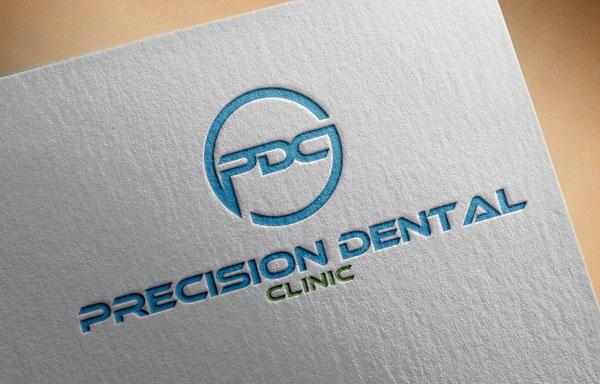 Logo Design by designboss - Entry No. 117 in the Logo Design Contest Captivating Logo Design for Precision Dental Clinic.