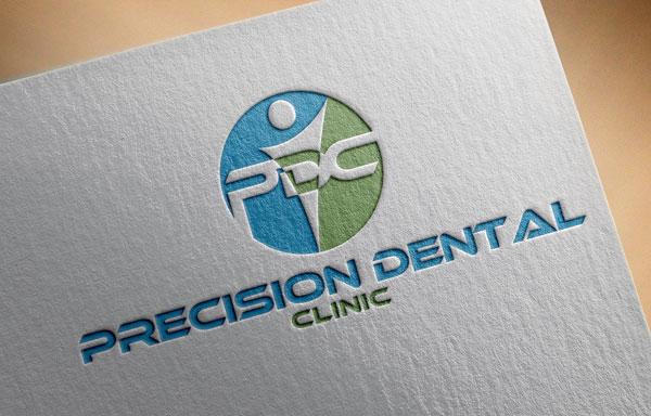 Logo Design by designboss - Entry No. 118 in the Logo Design Contest Captivating Logo Design for Precision Dental Clinic.